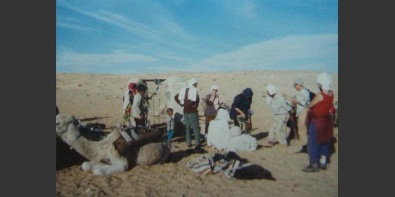 1997: Trilogos on a desert trek