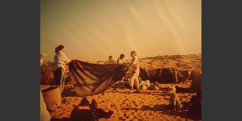 2000: A break at a desert trek