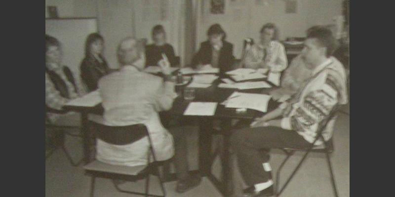 1996: One of the early seminars on interreligious dialogue