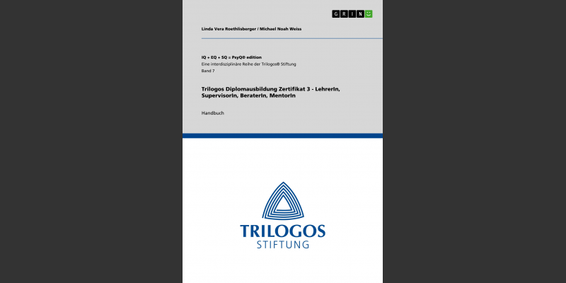 Handbuch Zertifikat 3 TRILOGOS LehrerIn